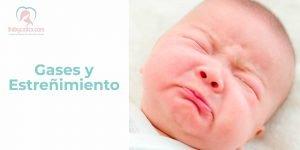 Gases y estreñimiento en bebés
